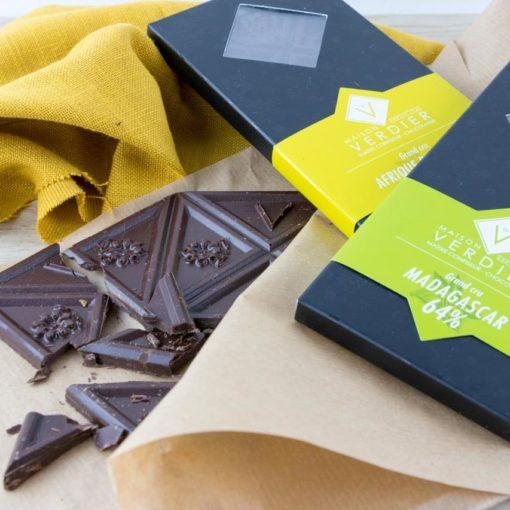 Un cacao grands cru pour des tablettes de chocolats d'exception