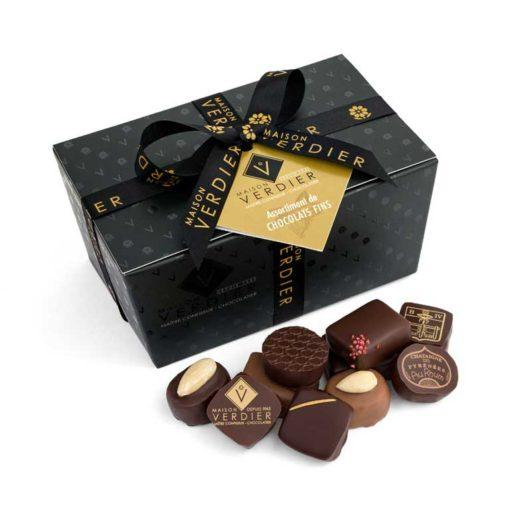 Assortimentent de Chocolats Fins en Ballotin de 500g