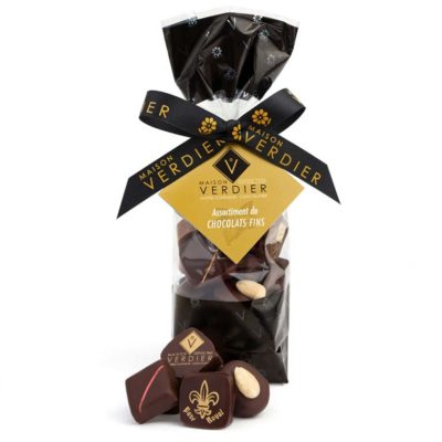 Assortiment de chocolats fins en sachet