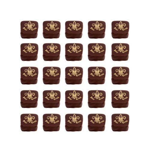 Pavé royal, confiserie au chocolat de la Maison VERDIER