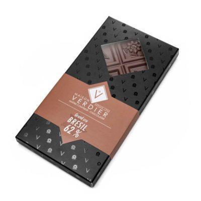 Tablette Grand Cru - Brésil - Chocolat Noir 62 %