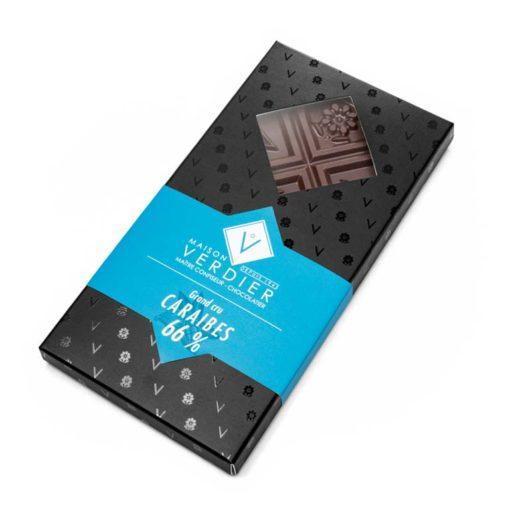 Chocolat Tablette Caraibes 66%