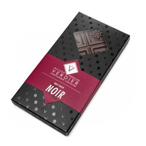 Chocolat Noir Sans Sucre Ajoutés