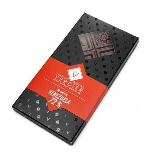 Tablette Grand Cru - Venezuela - Chocolat Noir 72 %