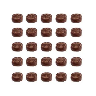 Châtaignes des Pyrénées au chocolat, purée de marron et Rhum