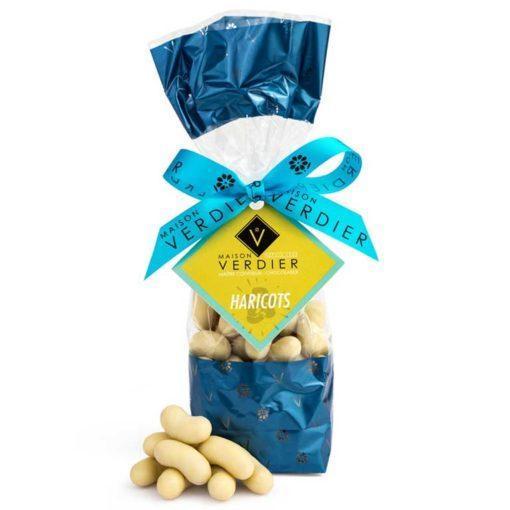 Les bonbons haricots en chocolat de la Maison VERDIER