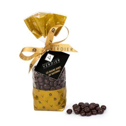 Raisins Dorés au Sauternes en sachet de 200g