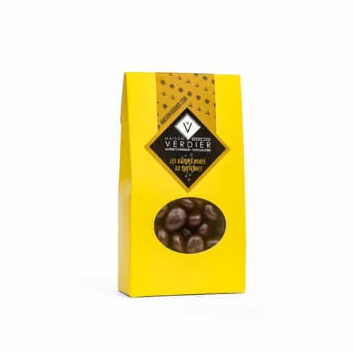 Raisins dorés au Sauternes servis dans une pochette carton - Contenance 50 grammes