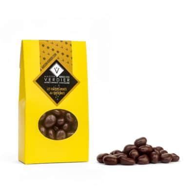 Les délicieux raisins dorés au sauternes dans leur pochette de 50 grammes
