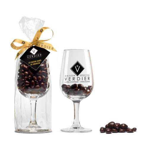raisin dore au jurancon venduavec son verre MAison-VERDIER