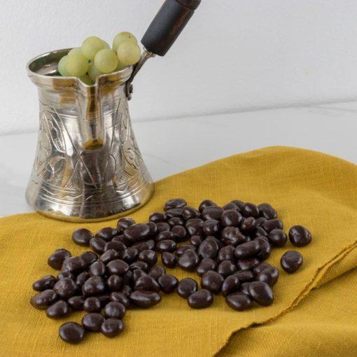 Les raisins dorés pour accompagner le café